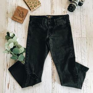 LUCKY BRANDS Sienna Cigarette Slim Boyfriend Jeans